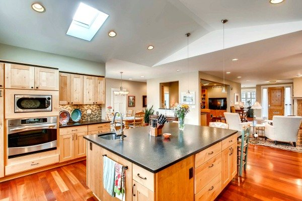 University of Denver home's kitchen