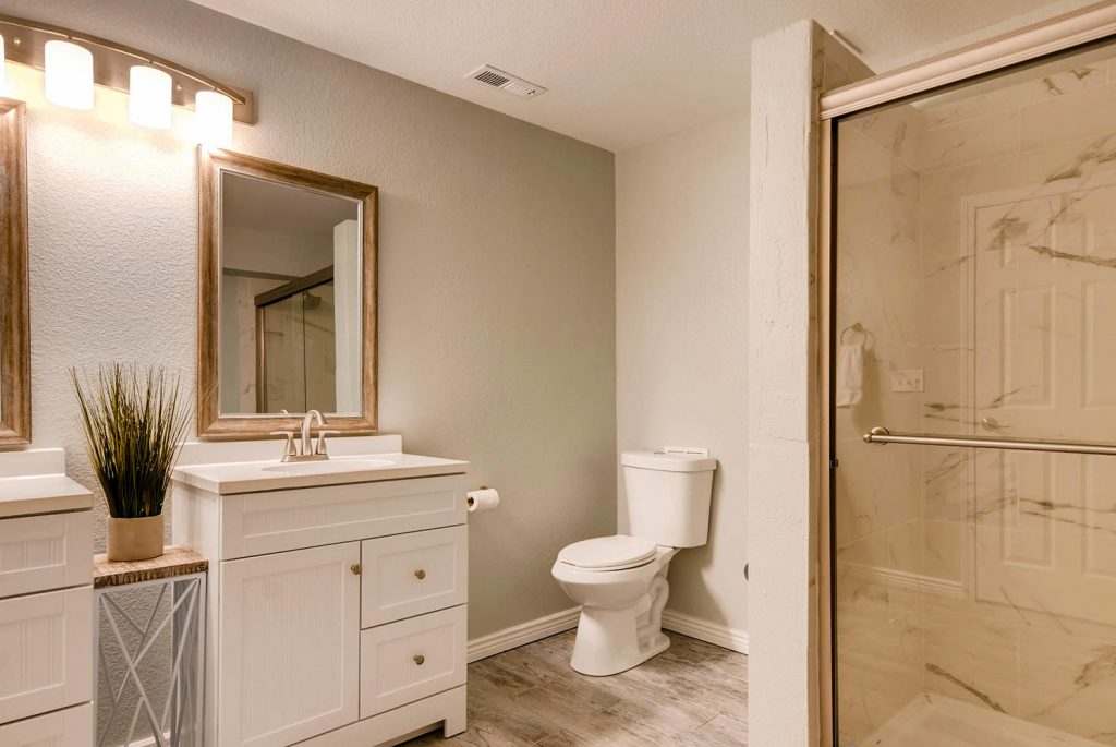 Prepare bathrooms to show well