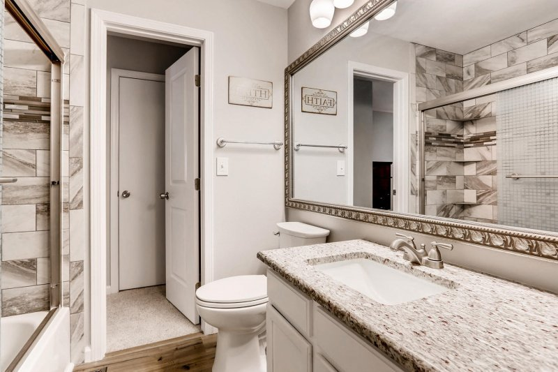 Parkborough neighborhood remodeled bath