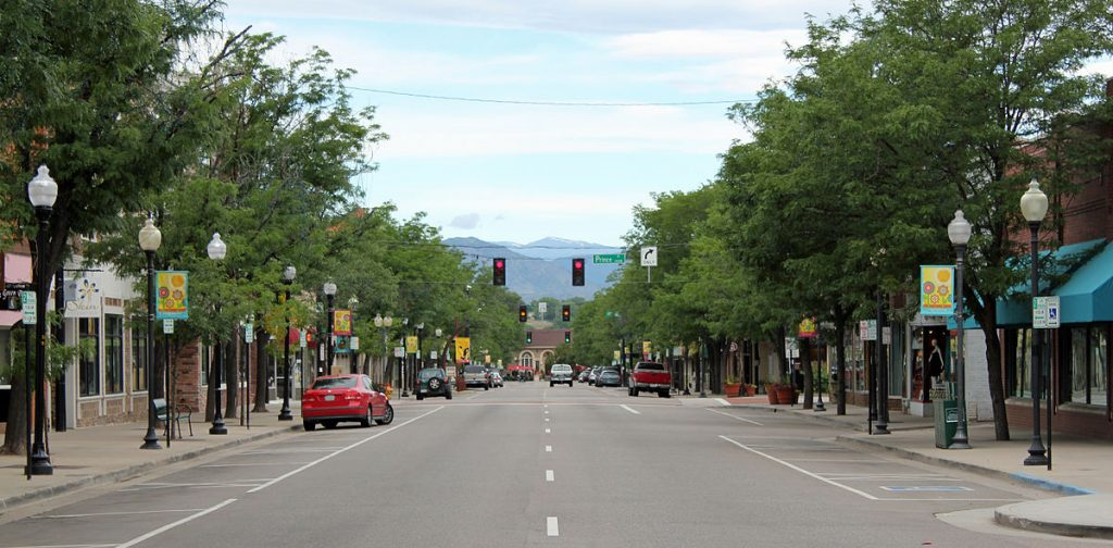 Downtown Littleton Colorado