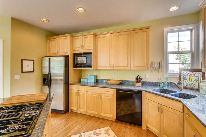 Updated kitchen in the Lowry neighborhood