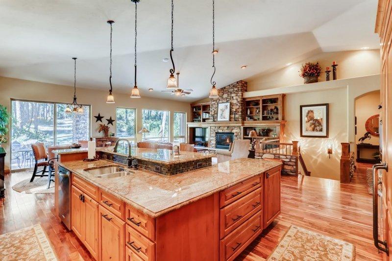 Hidden Forest Colorado Kitchen