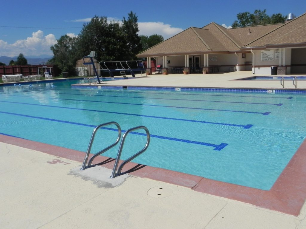 Swimming Pool at Centennial Co affordable country club