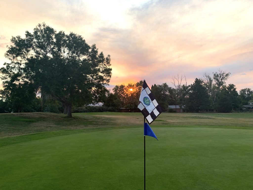 Sunset at Southglenn Country Club