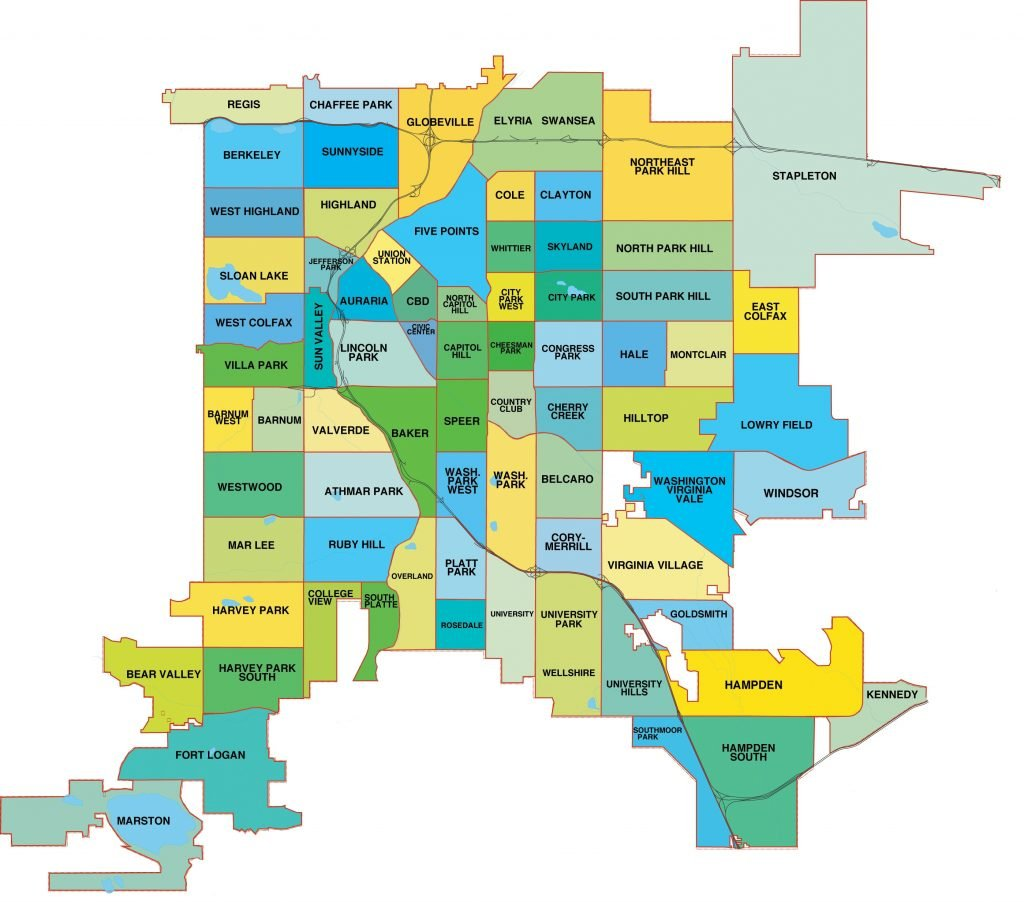 Denver rental neighborhoods