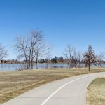 Sloan's Lake real estate surrounds a large lake inside the Denver city limits