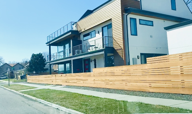 New real estate in Sloan lake