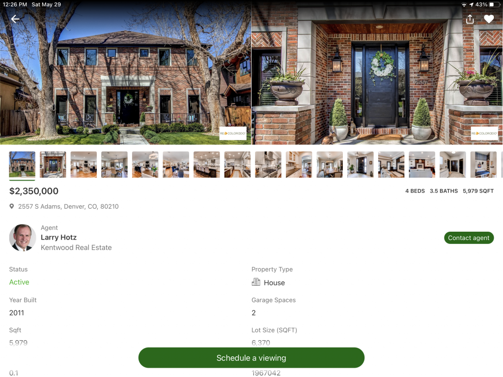 Best Denver Home Search View