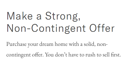 Non-Contingent Offer